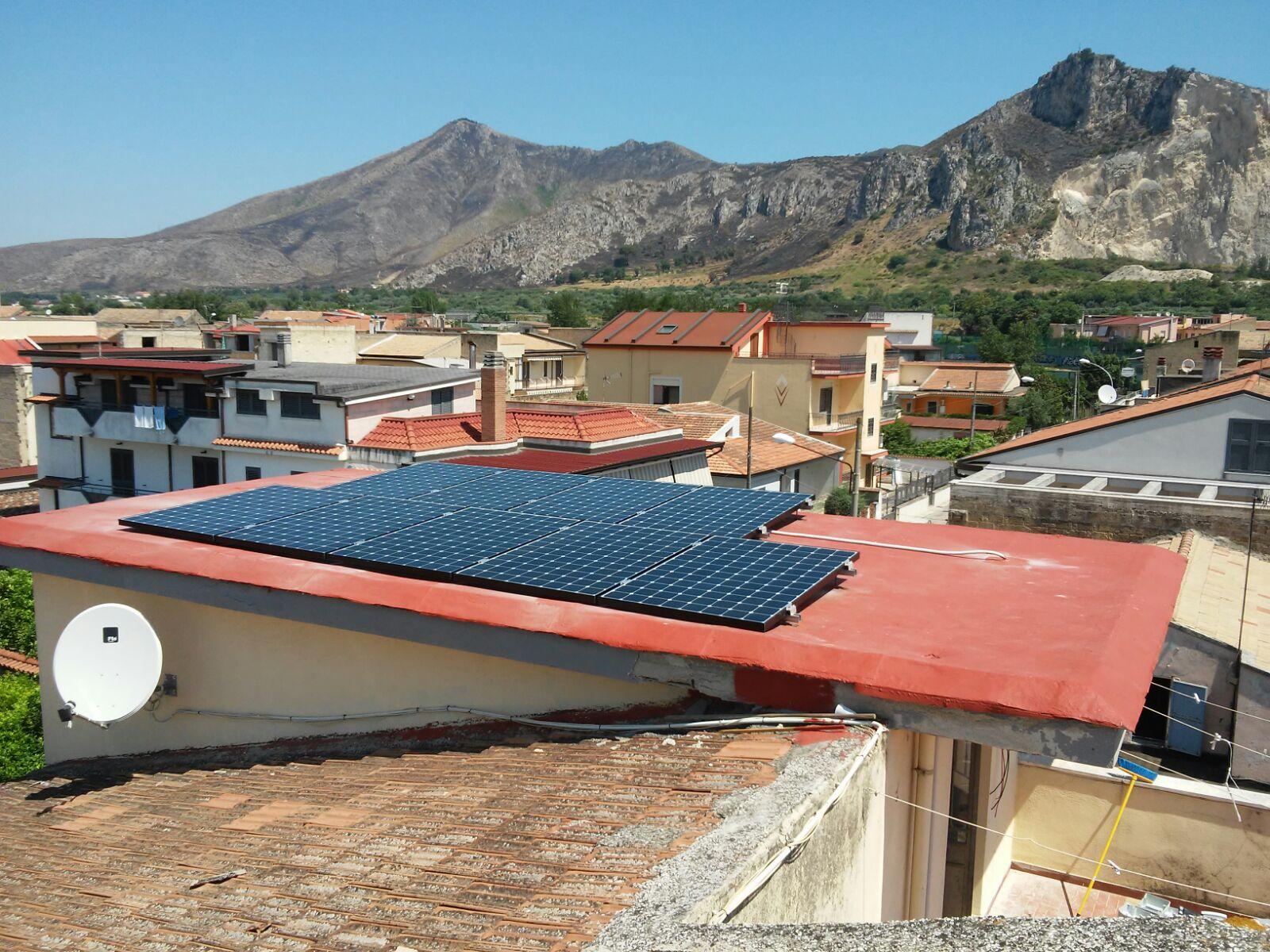 Pannelli Solari Casa Aurora Power One Italia
