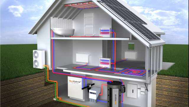 Impianti fotovoltaici e pompe di calore impianti for Impianto di riscaldamento con pompa di calore