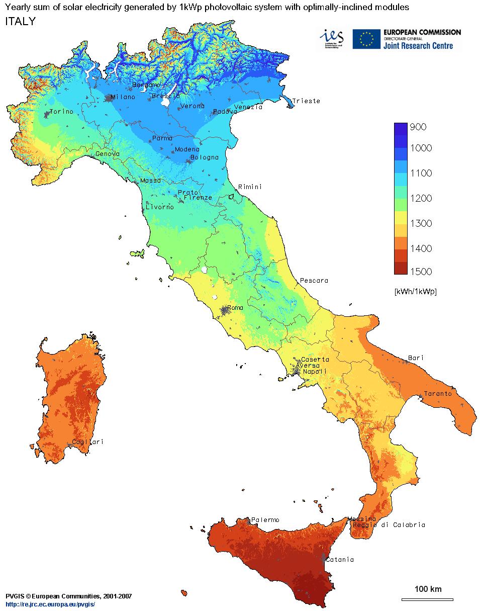 Mappa-solare-Italiana_per_impianti_fotovoltaici